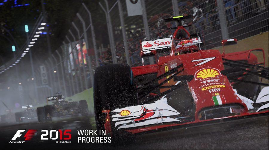 F1 2015 recebe novo trailer e data de lançamento