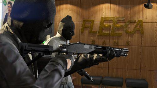 Novas imagens de GTA V Heists Online