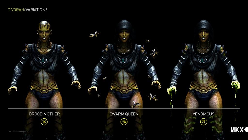 Mortal Kombat X - Variações