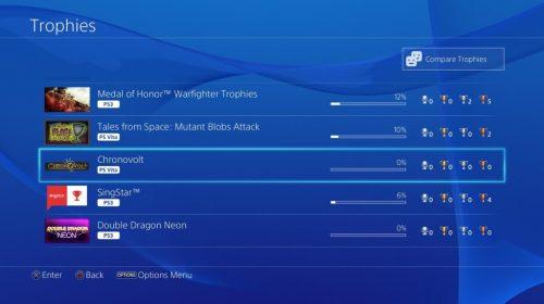 Novas imagens do Update 2.50 para PlayStation 4