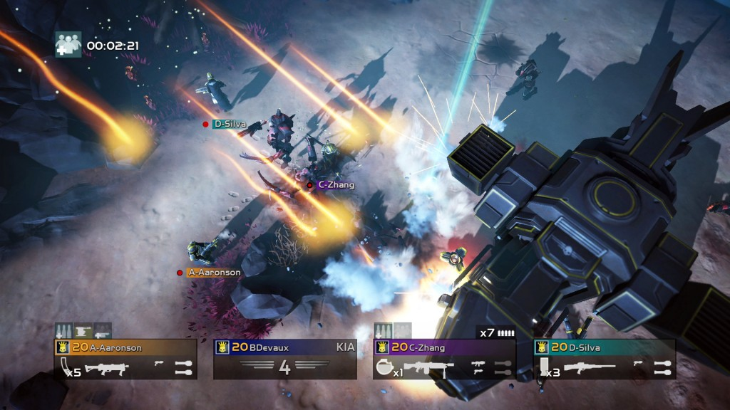 PS4 - Helldivers - Resgate