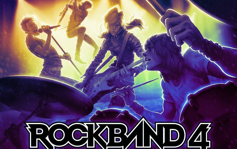 Reveladas primeiras músicas de Rock Band 4