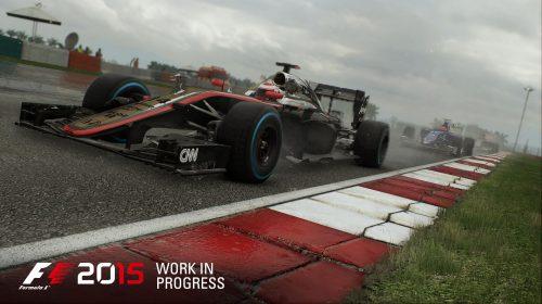F1 2015 para PS4 recebe novas imagens