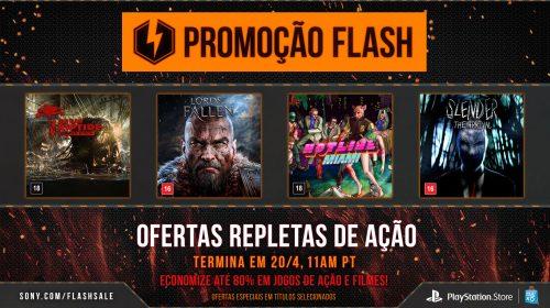 Sony coloca jogos em Promoção na Flash Sale
