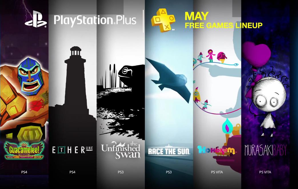 PlayStation Plus Maio 2015