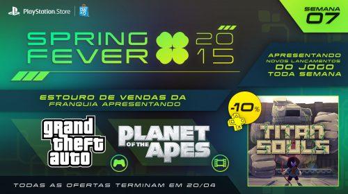 Spring Fever entra em sua 7º semana com descontos em GTA