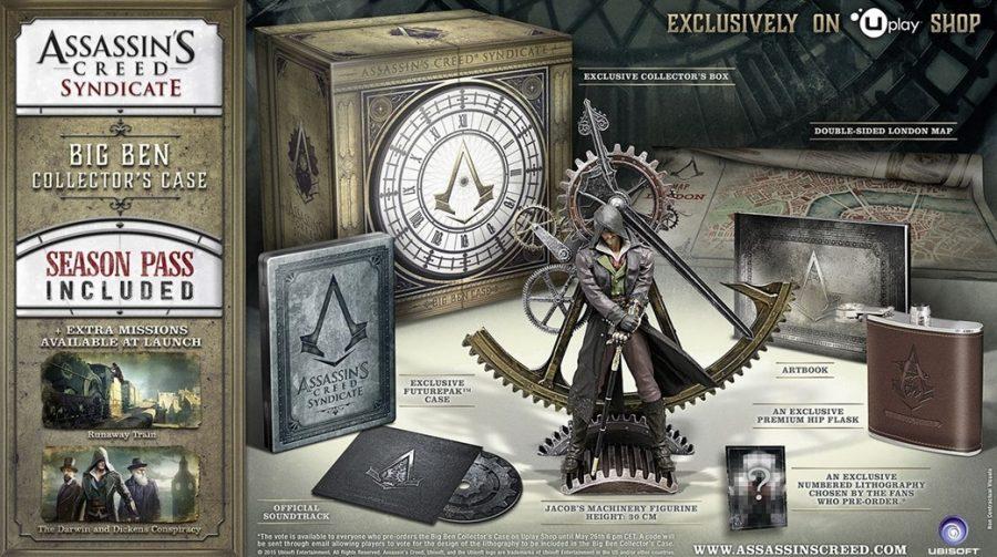 Ubisoft revela edições de colecionadores de AC: Syndicate