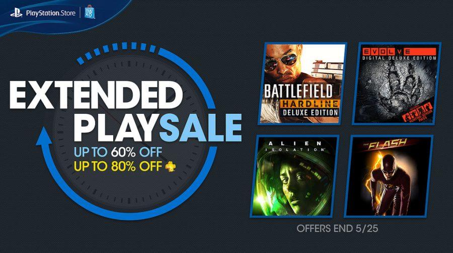 Sony anuncia promoção Extended Play com vários jogos