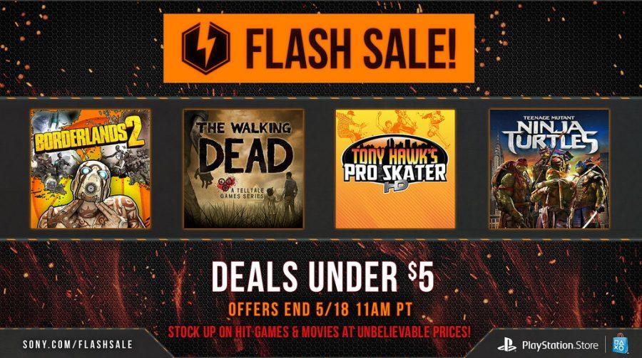 Flash Sale de maio na PlayStation Network