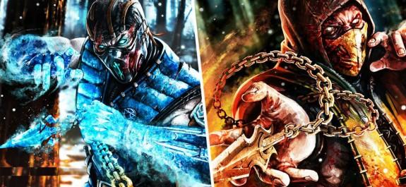 Mortal Kombat X - Scorpion x Subzero
