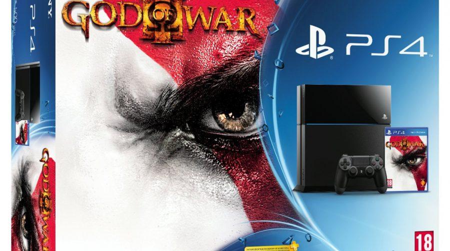 Bundle God of War 3: Remastered é listado em loja