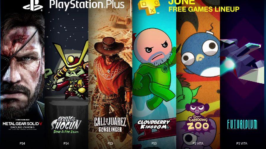 Jogos da PlayStation Plus de Junho serão liberados hoje