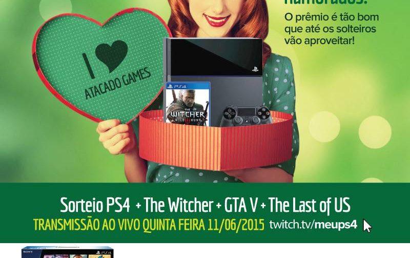 Ganhe um PS4 - Campanha Meu Amor Merece!