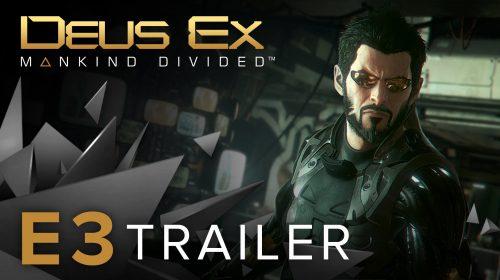 Primeiro gameplay de Deus Ex: Mankind Divided é mostrado