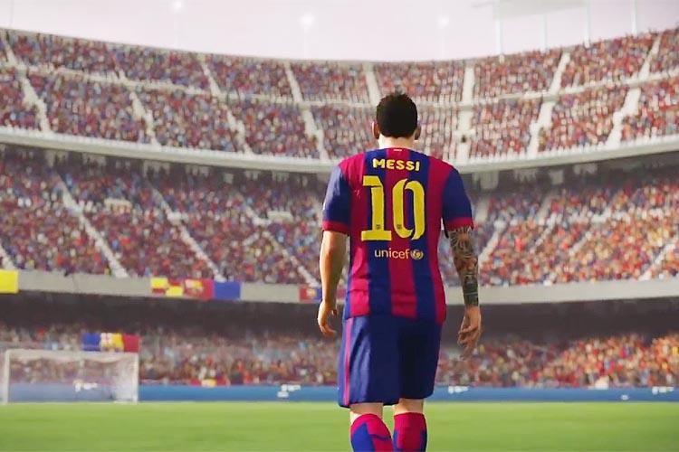 EA mostra o FIFA 16 com Pelé como destaque