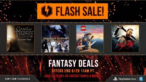 Sony anuncia a Flash Sale: Ofertas de Fantasia