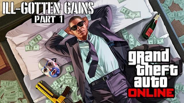 DLC ILL-GOTTEN GAINS de GTA V recebe data lançamento