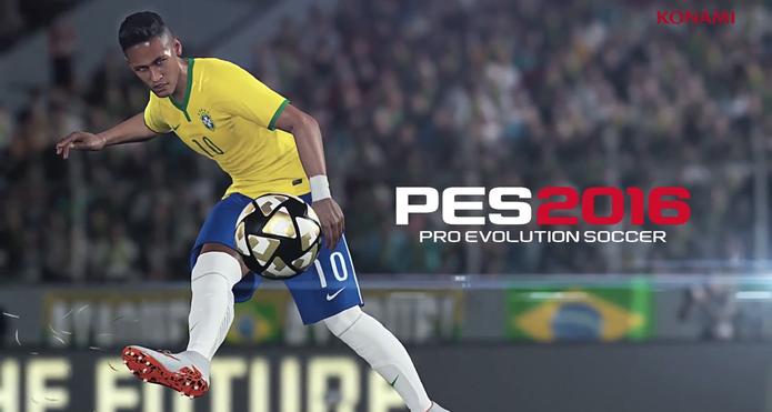 PES 2016 é anunciado e Neymar é o destaque