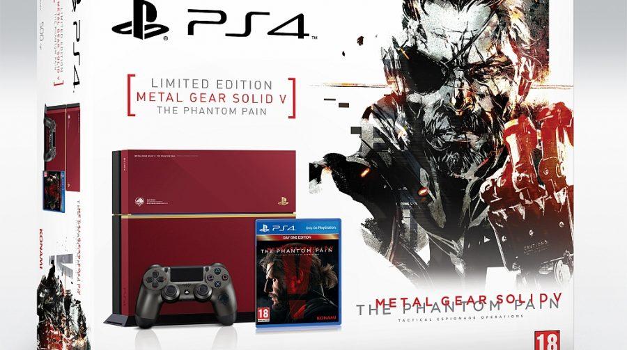 Anunciado bundle especial do PS4 inspirado em MGS V