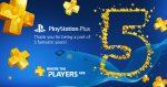 PlayStation Plus 5 anos