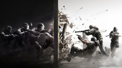 Rainbow Six Siege gameplay Área Segura