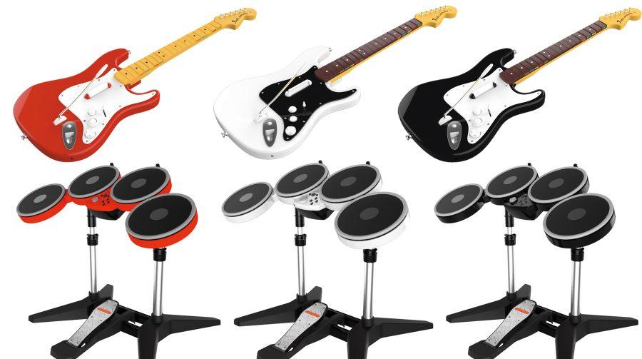 Instrumentos antigos serão compatíveis com Rock Band 4