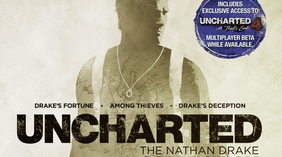 The Nathan Drake Collection entra em pré-venda na PSN