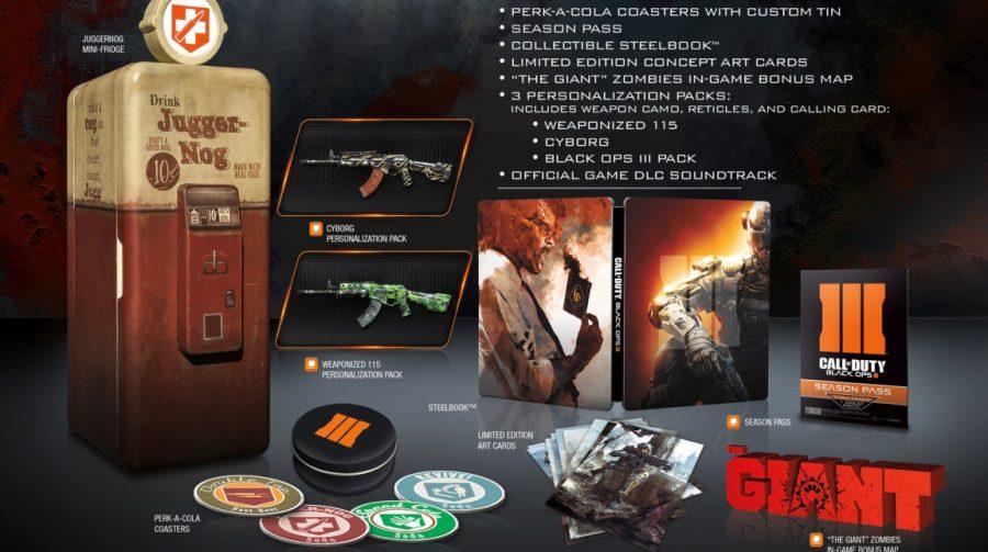 Revelada edição de colecionador de Black Ops III