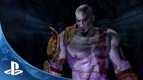 5 primeiros minutos de God of War III: Remastered