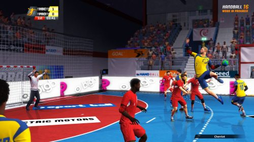 Handball 16 é anunciado para PS4