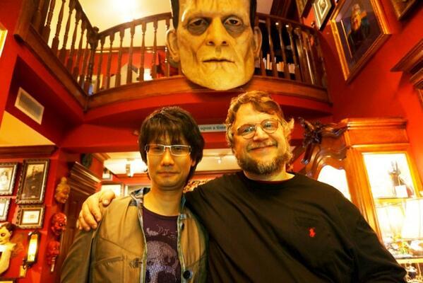 Kojima e Del Toro