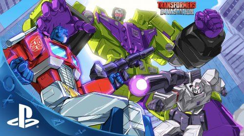 Revelado novo e belo gameplay de Transformers: Devastation