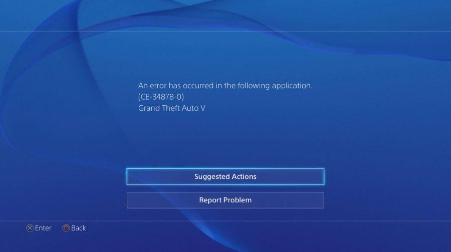 Sugestão: Como resolver o erro CE 34878-0 no PlayStation 4