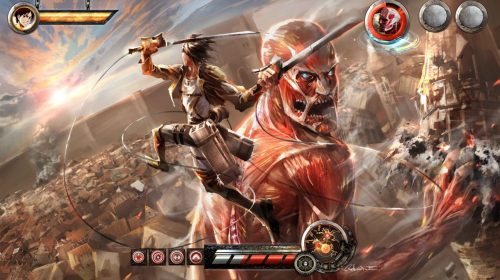Attack on Titan ganha trailer com gameplay