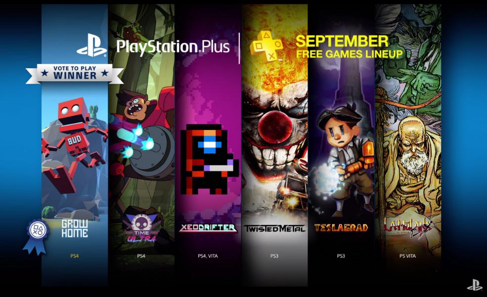 PlayStation Plus Setembro 2015