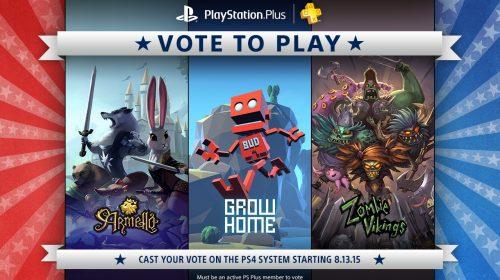 Vote to Play começa na quinta-feira, veja os candidatos!