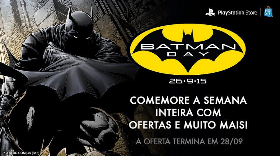Sony anuncia promoção em jogos do Batman na PSN