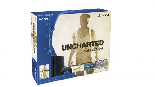 Sony anuncia bundle especial do Uncharted Collection