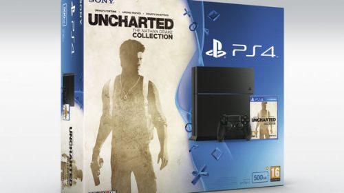 Bundles especiais e novo gameplay de Uncharted Collection