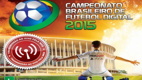 Brasileiro de futebol digital acontece neste final de semana