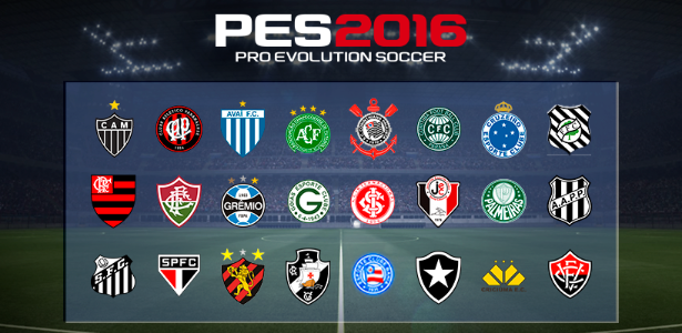 Clubes PES 2016