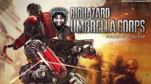 Capcom revela Resident Evil: Umbrella Corps para PS4
