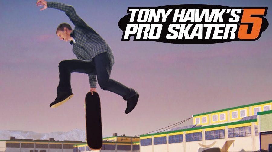 Tony Hawk's Pro Skater 5 pode ser o fracasso do ano