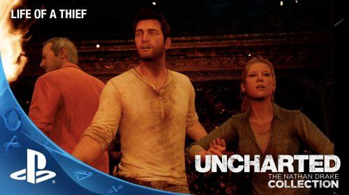 Sony divulga trailer espetacular de Uncharted Collection