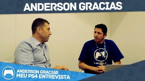 Entrevista com Anderson Gracias, chefe da PlayStation Brasil