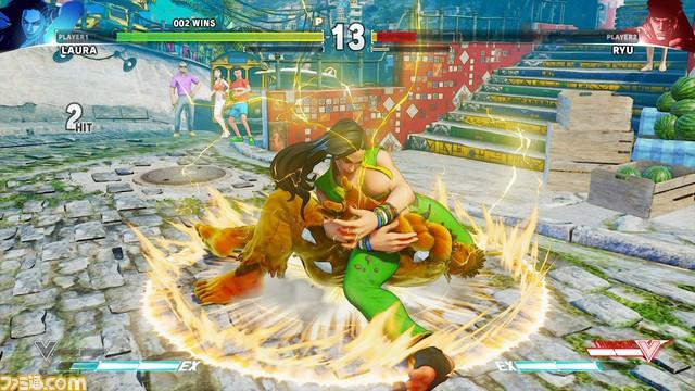 [VAZOU] Laura é nova lutadora brasileira de Street Fighter V Laura-Street-Fighter-V_1
