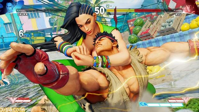 [VAZOU] Laura é nova lutadora brasileira de Street Fighter V Laura-Street-Fighter-V_2