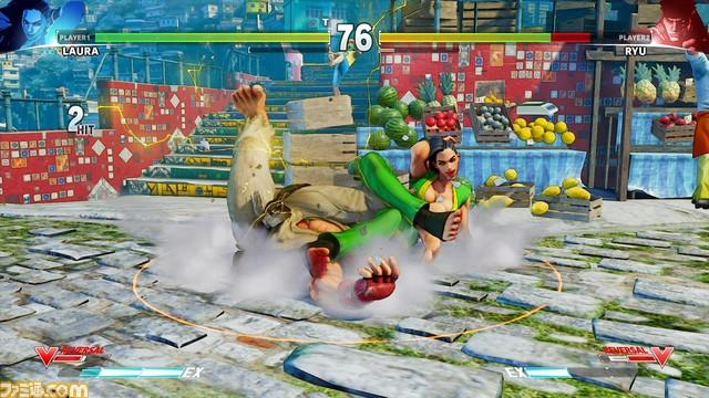 [VAZOU] Laura é nova lutadora brasileira de Street Fighter V Laura-Street-Fighter-V_5