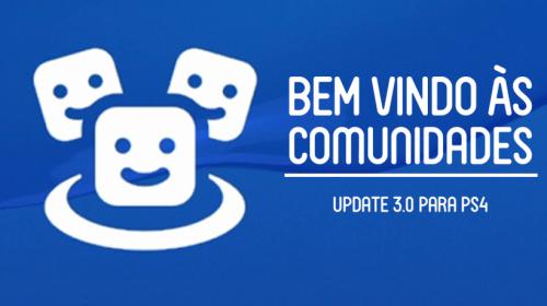 Como se juntar à nossa comunidade oficial no PS4