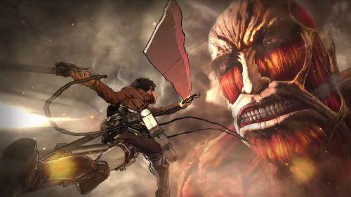 Attack on Titan recebe novo e intenso trailer de gameplay